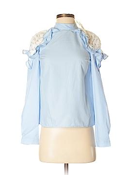 Miss Selfridge Long Sleeve Blouse Size 2