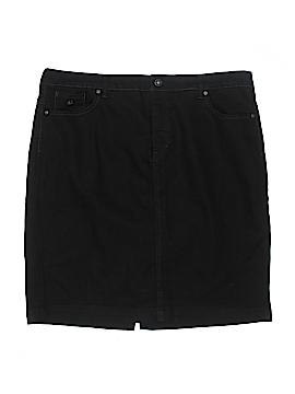 Gloria Vanderbilt Denim Skirt Size 18 (Plus)