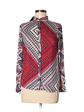 Target Long Sleeve Button-Down Shirt Size L