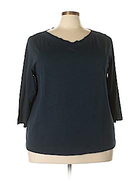 J.jill 3/4 Sleeve T-Shirt Size 3X (Plus)