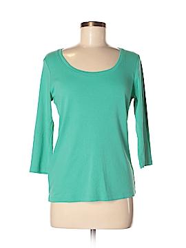 Eddie Bauer 3/4 Sleeve T-Shirt Size L (Petite)