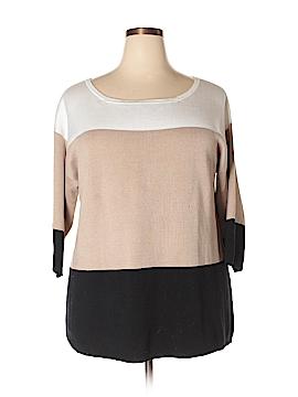 Adrienne Vittadini Pullover Sweater Size 1X (Plus)
