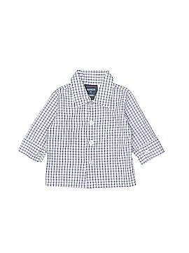 Hudson Long Sleeve Button-Down Shirt Size 3-6 mo