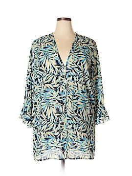 Maggie Barnes 3/4 Sleeve Blouse Size 18 (Plus)