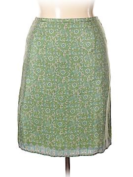 Old Navy Silk Skirt Size 14