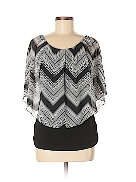 Carol Rose Short Sleeve Blouse Size M