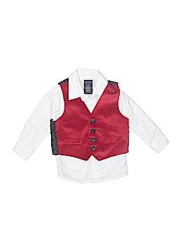 Nautica Long Sleeve Button-Down Shirt Size 12 mo