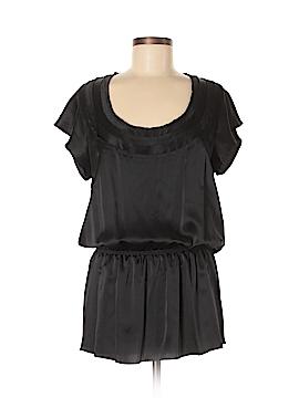 Thakoon Short Sleeve Silk Top Size 8