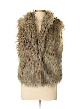 CALVIN KLEIN JEANS Faux Fur Vest Size L