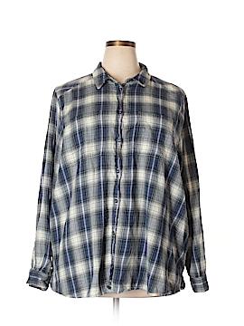 ASOS Long Sleeve Button-Down Shirt Size 20 (Plus)