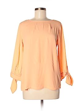 Jeanne Pierre 3/4 Sleeve Blouse Size M