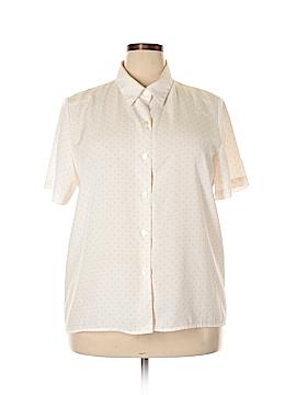 Sag Harbor 3/4 Sleeve Blouse Size XL