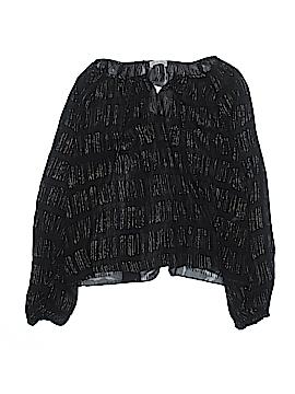 LoveShackFancy Long Sleeve Silk Top Size 1