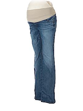 Indigo Blue Jeans Size M (Maternity)