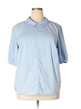Eloquii 3/4 Sleeve Blouse Size 18 (Plus)