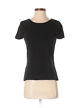 Nina Mclemore Short Sleeve Silk Top Size XS