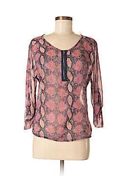 Vintage Havana 3/4 Sleeve Blouse Size M