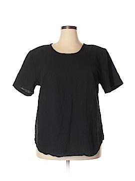 Silhouettes Short Sleeve Blouse Size 18 (Plus)