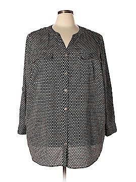 Avenue Long Sleeve Blouse Size 30 - 32 Plus (Plus)