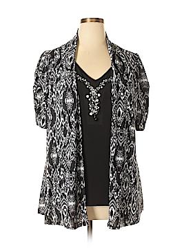 DressBarn Short Sleeve Top Size 14 - 16
