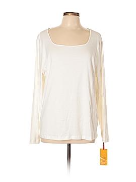 Ruby Rd. Long Sleeve T-Shirt Size 2X (Plus)