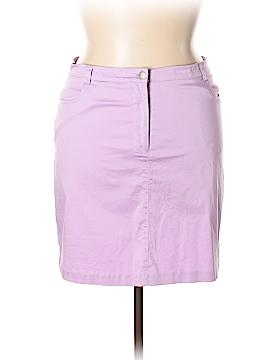 Tori Richard Denim Skirt Size 14
