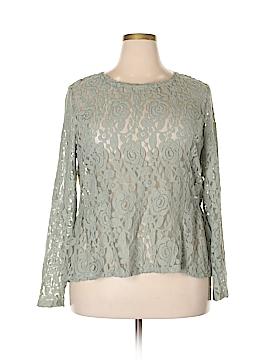 LC Lauren Conrad Long Sleeve Top Size XXL