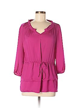 Criss Cross 3/4 Sleeve Blouse Size M