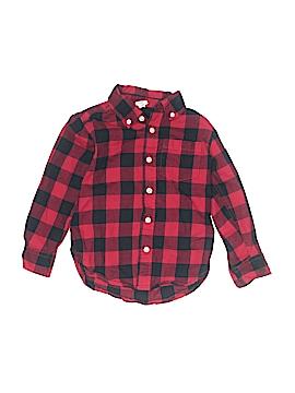 Gap Long Sleeve Button-Down Shirt Size 4Y