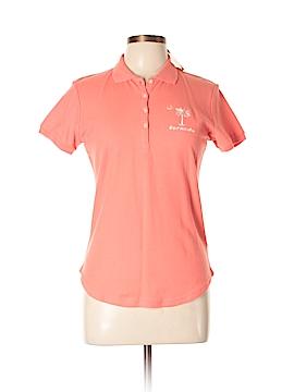 Basix Short Sleeve Polo Size L