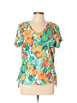 Caribbean Joe Short Sleeve Top Size XL