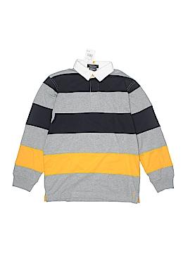 Nautica Long Sleeve Polo Size 12 - 14