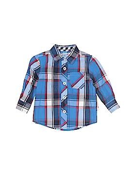 Arizona Jean Company Long Sleeve Button-Down Shirt Size 9 mo