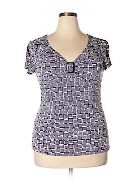 Christine Gerard Short Sleeve Top Size XL