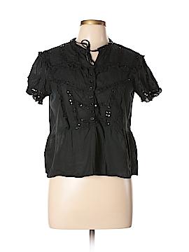 Persaman New York Short Sleeve Button-Down Shirt Size L