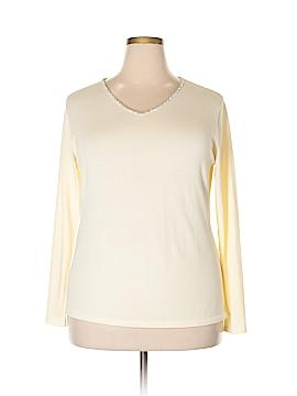 Diva by Dana Buchman Pullover Sweater Size 2X (Plus)