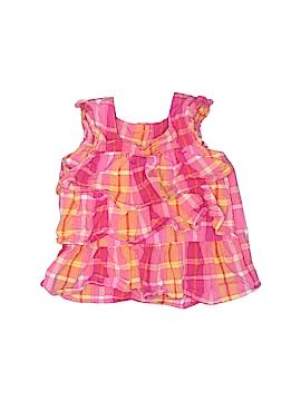 OshKosh B'gosh Short Sleeve Blouse Size 3T