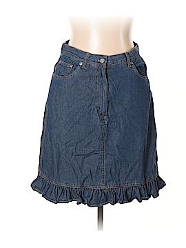 Billabong Denim Skirt Size 10 (Petite)