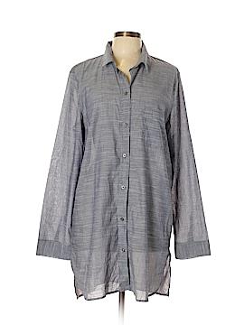 Gap Body Long Sleeve Button-Down Shirt Size L