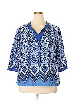 Covington 3/4 Sleeve Blouse Size 16 - 18