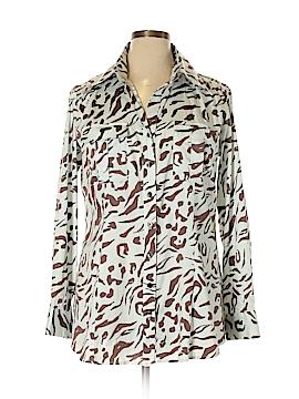 Finley Long Sleeve Button-Down Shirt Size XL