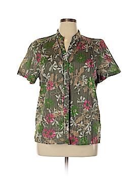 D&Co. Short Sleeve Button-Down Shirt Size XL