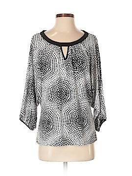 New York & Company 3/4 Sleeve Blouse Size M