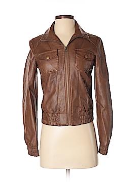 Nollie Faux Leather Jacket Size XS