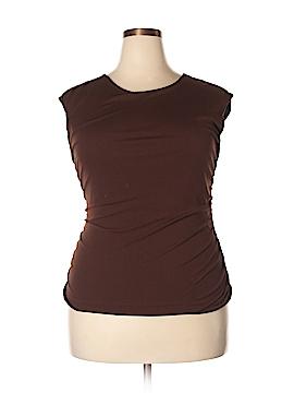 Kathie Lee Short Sleeve Top Size 16