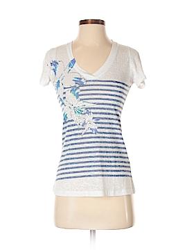 Mi Manchi Short Sleeve Blouse Size M