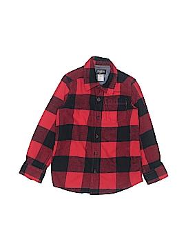 OshKosh B'gosh Long Sleeve Button-Down Shirt Size 6