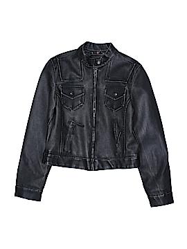 Me Jane Faux Leather Jacket Size L (Kids)