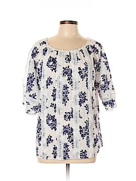 Tahari 3/4 Sleeve Blouse Size L