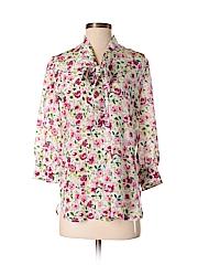 Dolce & Gabbana 3/4 Sleeve Silk Top